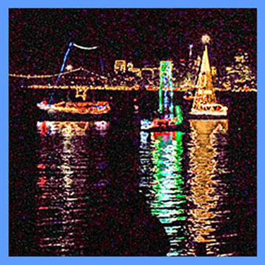Boat Parade w_SF Background