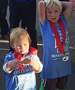 Kids w-medals
